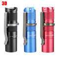 Astrolux S1 Waterproof 1600LM 7/4modes 3D Mini XPL LED light 18350 torch Flashlight+Clip+o-rings+button+Gift Box