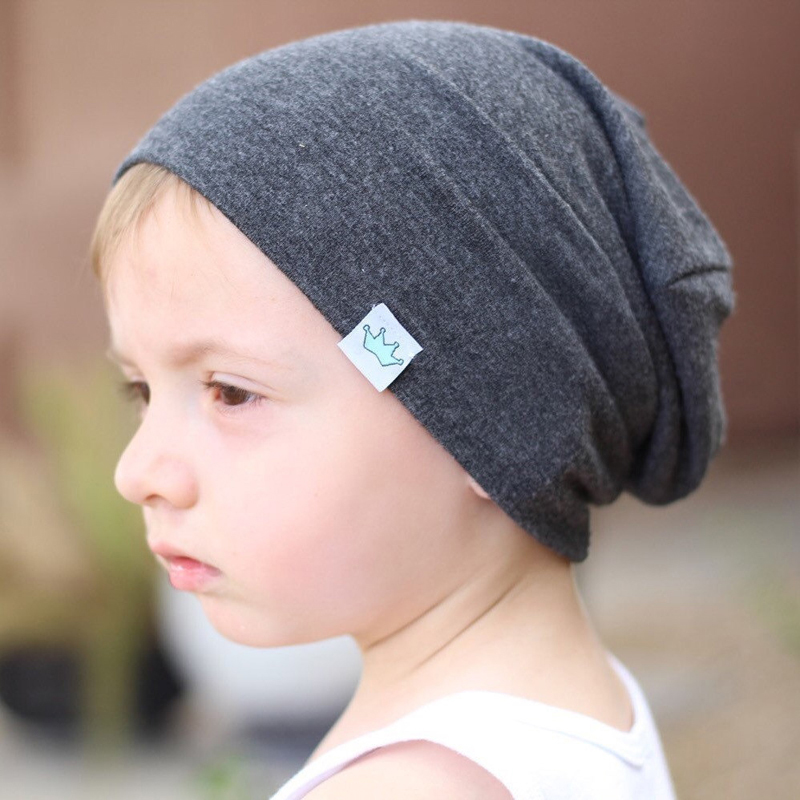 Boys Cool Hats Baby Girl Cotton Beanie Hedging Caps Soft ...