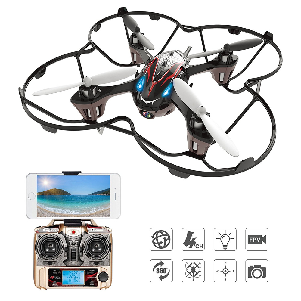 Holy Stone F180W Drone with Camera HD RC Helicopter Mini FPV Quadcopter Gravity Sensor 3D Flip Headless Mode Including Battery mini drone with camera hd rc helicopter remote control quadcopter headless mode 2 4ghz 30w aircraft toy for adult child gifts