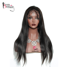 13×6 Lace Front Human Hair Wigs With Pre Plucked Hairline 150% Density Straight Brazilian Lace Front Wigs Remy Ever Beauty Hair