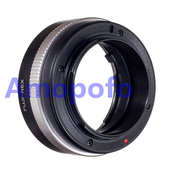 Amopofo, FUJI-NEX Adapter for Fujica X Old AX mount lens to for Sony E adapter NEX7 NEX6 A6000 A7 A7R FX-NEX