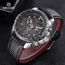 MEGIR Men's Watches Top Brand Luxury Quartz Watch Men Fashion Casual Luminous Waterproof Clock Relogio Masculino 2018 цена 2017