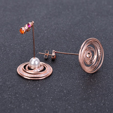 Funmor Special Freshwater Pearl Drop Earrings 925 Sterling Silver Oorbellen Girls Women Party Gathering Decoration Pendientes