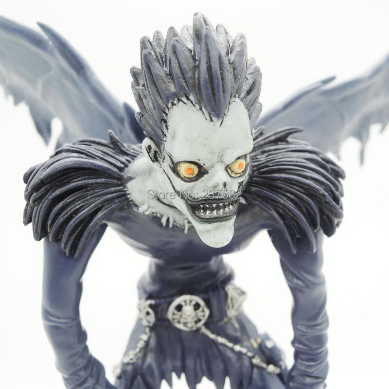Free Shipping japanese anime <font><b>figures</b></font> 18cm <font><b>Death</b></font> <font><b>Note</b></font> Deathnote <font><b>Ryuk</b></font> PVC Action <font><b>Figure</b></font> Anime adult Collection <font><b>Model</b></font> Toy Dolls