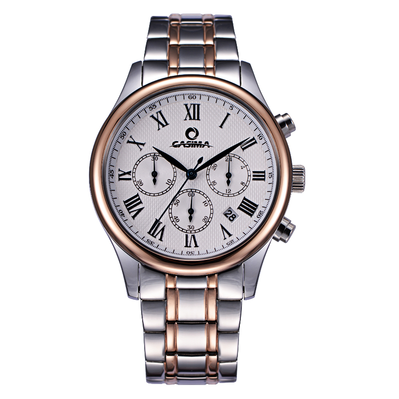 ФОТО 2016 fashion charm men's dress leisure quartz wrist watch waterproof  luxury brand watches men  CASIMA # 5118