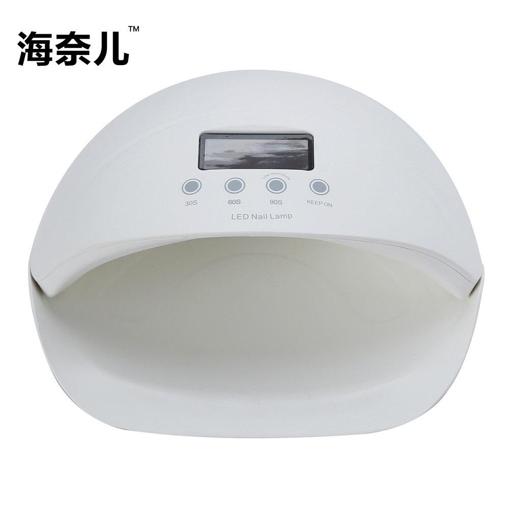 Beauty Nail Art SUNUV 5SE 50W UV LED Nail Gel Lamp Dual Hands Curing For Gel Nail Polish Manicure Free Shipping LCD Timer Sensor