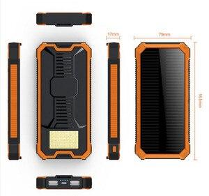 HK Lii-D001 LiitoKala солнечное зарядное устройство 12000 мАч Внешнее для iPhone 6 6 S 7 еще зарядное устройство для телефона для Samsung phon