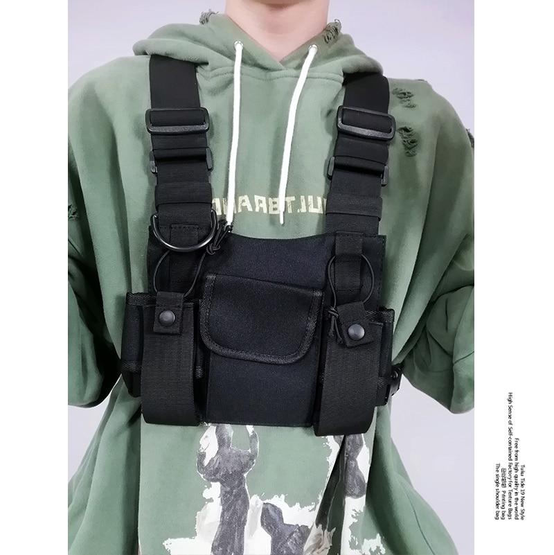 Men's Tactical Shoulder Chest Rig Bag 12