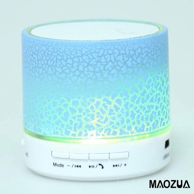 Portable Speaker A9 LED Bluetooth Speaker Mini Speakers Hands Free Wireless Speaker With TF Card Mic USB Audio Music Player