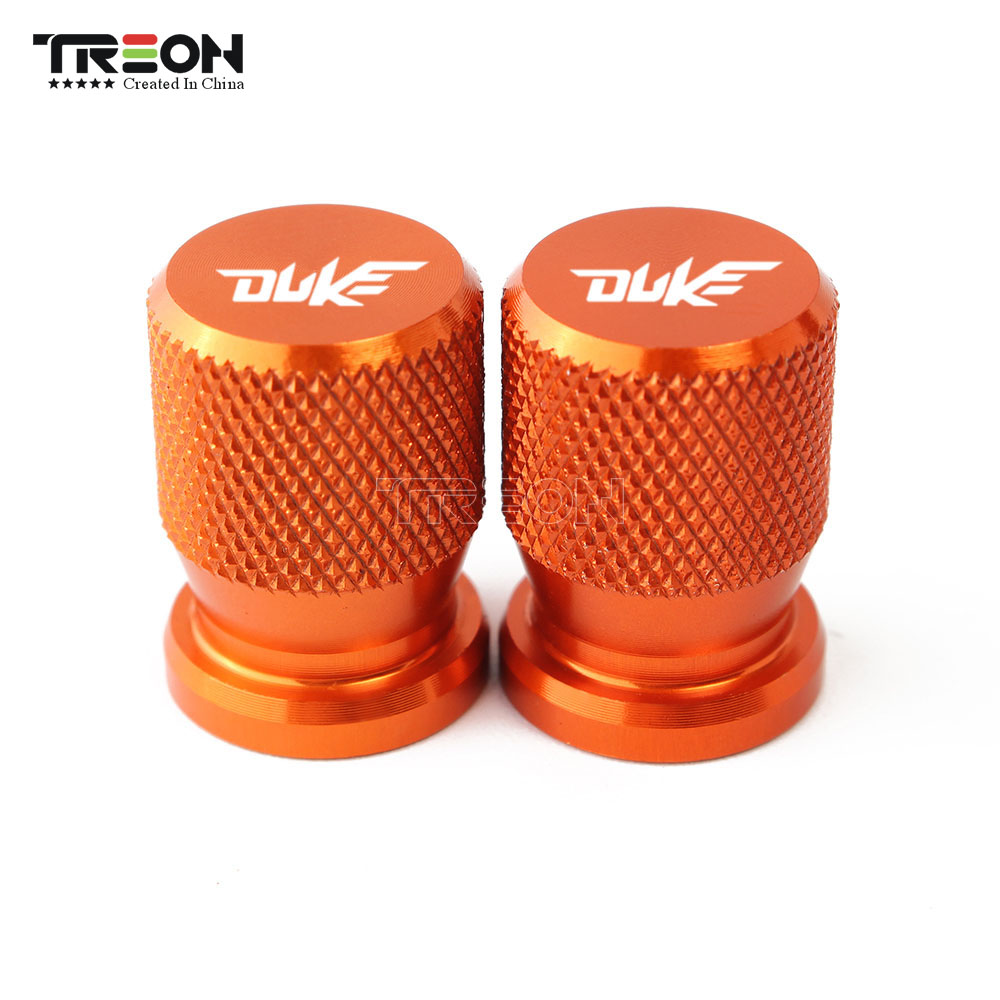 For KTM RC 125 200 390 Duke 125 200 390 250 790 2013-2019 Motorcycle Accessorie Wheel Tire Covers Motorcycle Valve Stem Caps
