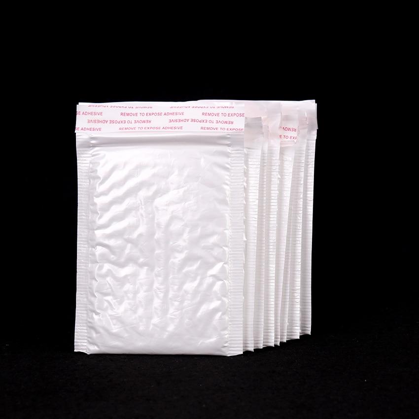 10PCS 130*110MM White Bubble Envelope Bubble Film Bag Pearl Film Envelope Shock Bag Office Business Mail Bag Fragile Supplies