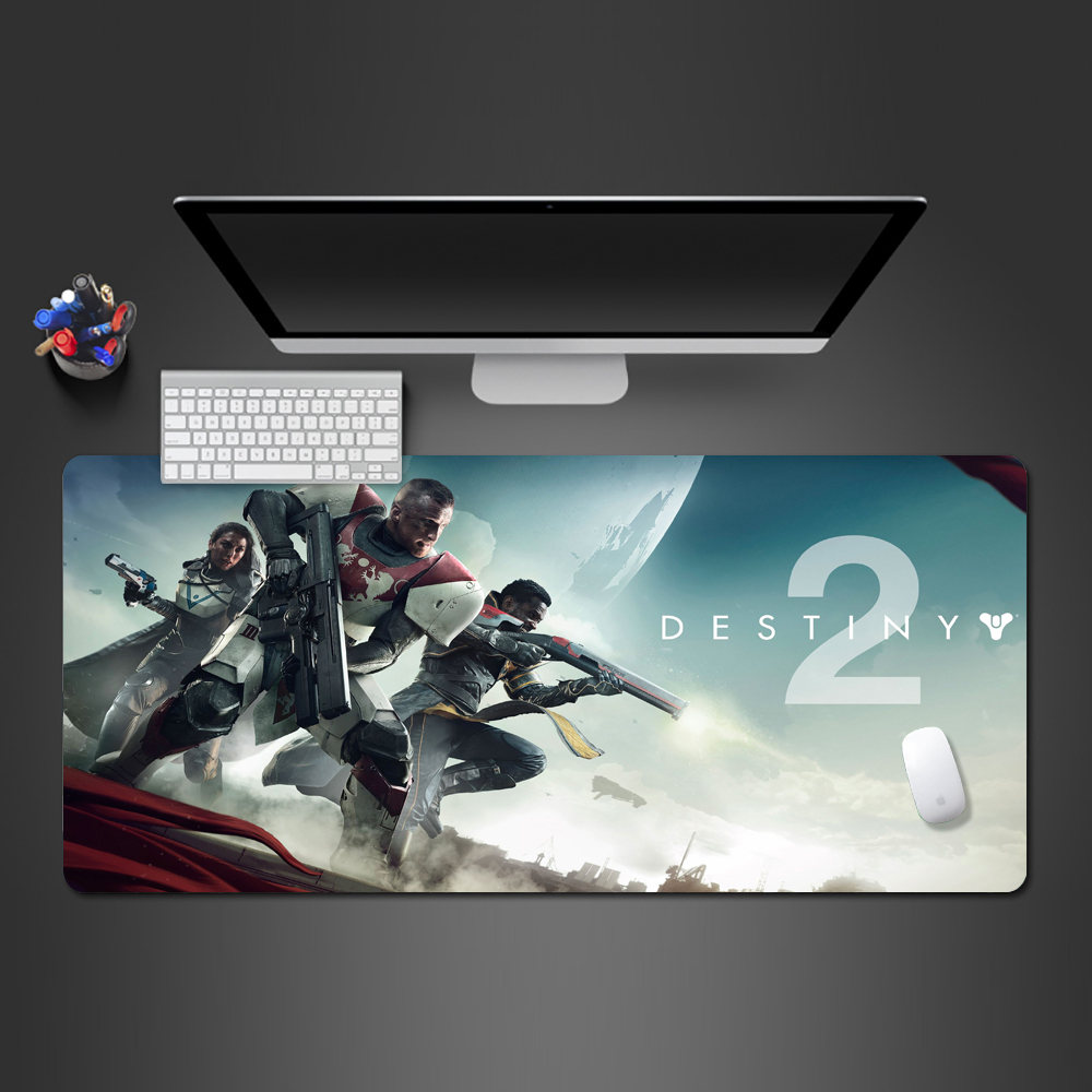 New Game Destiny 2 cover Wallpaper Mousepad Gaming Anti Slip
