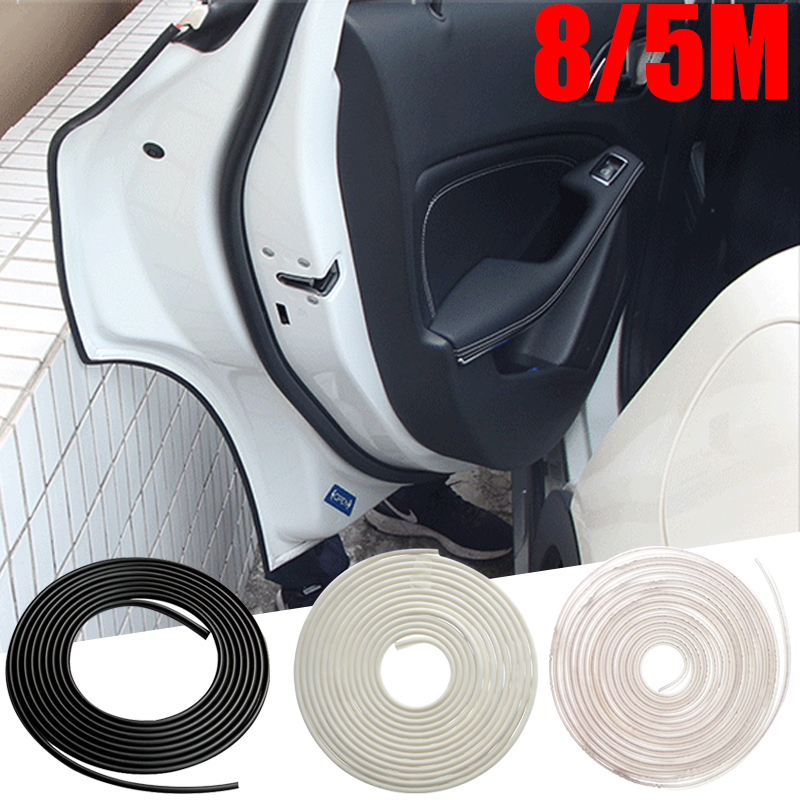 Car Styling Door Edge Scratch Crash Strip Protection Stickers For Audi BMW VW Toyota Kia Hyundai Ford Accessories Car-styling
