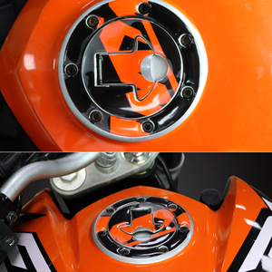 New 3D Motorcycle Reflective Fuel Tank Cover Pad Decals Protector Car Decoration Sticker for KTM DUKE390 13-14/DUKE200 12-14(China)