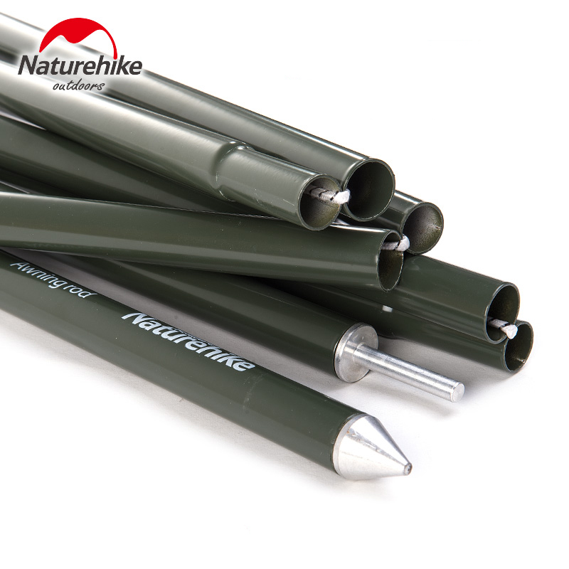 NatureHike Reinforced Aluminium Alloy Awning Rod Outdoor Support Pole Tent Pole(4 sections per pole) C&ing Awning Pole-in Tent Accessories from Sports ...  sc 1 st  AliExpress.com & NatureHike Reinforced Aluminium Alloy Awning Rod Outdoor Support ...