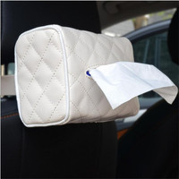 Sun Visor Chair Mounted Car With Tissue Boxes Creative Automotive Supplies Paper Towel Sets Pumping Cartons