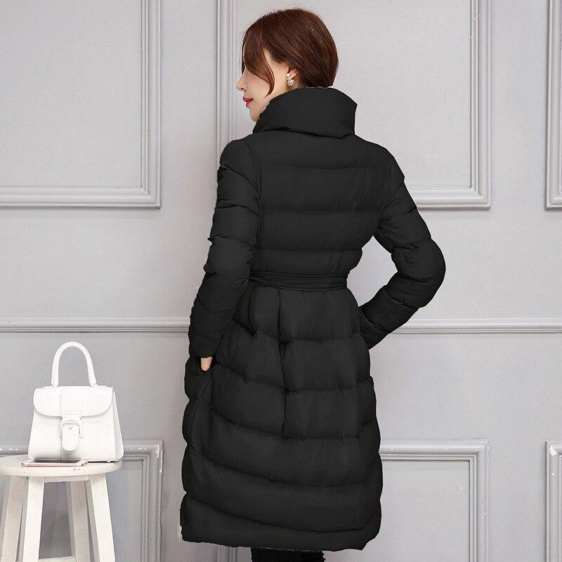 2018 wanita Jaket Baru Menengah-panjang Turun Kapas Jaket Plus Ukuran - Pakaian Wanita - Foto 5