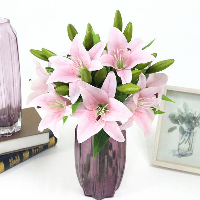 Lily's Bouquet for Decoration Set 6 Pcs
