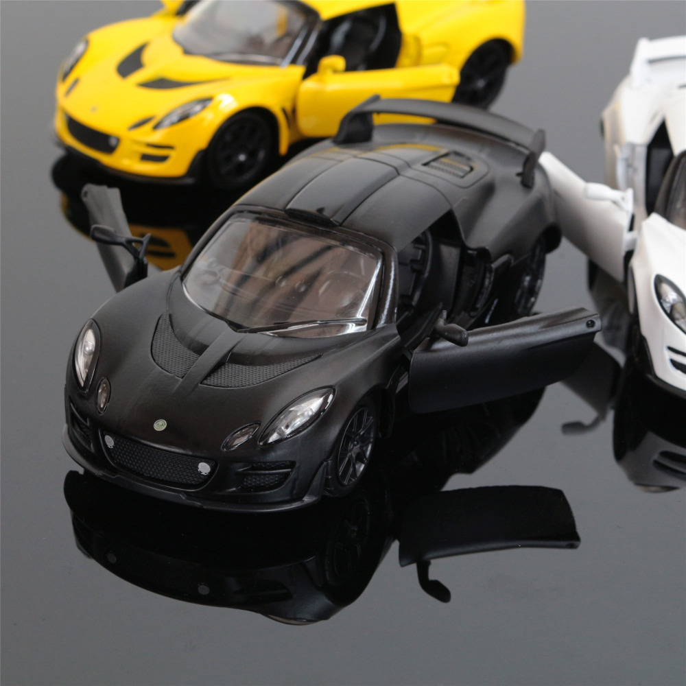 1:32 kids toys LOTUS Mini Auto metal toy cars model pull back car miniatures gifts for b ...