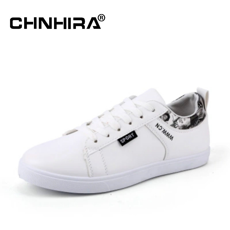 CHNHIRA New 2017 Men Casual Shoes Leather Summer Breathable Loafers Adult Moccasins Male Winter Warm White Shoes for Men#CH2079 men casual shoes in the autumn of 2017 new england men s trend of men s shoes casual shoes leather shoes breathable four male