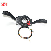 STYO Car Cruise Control System Stalk Handle Switch Cable Wire Harness Connector for 2011 2013 New Polo Fabia
