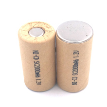 Power Cell,rechargeable battery cell,power tool battery cell,Ni CD 2000mAh 10pcs discharge rate 10C-15C mbr cell power foot