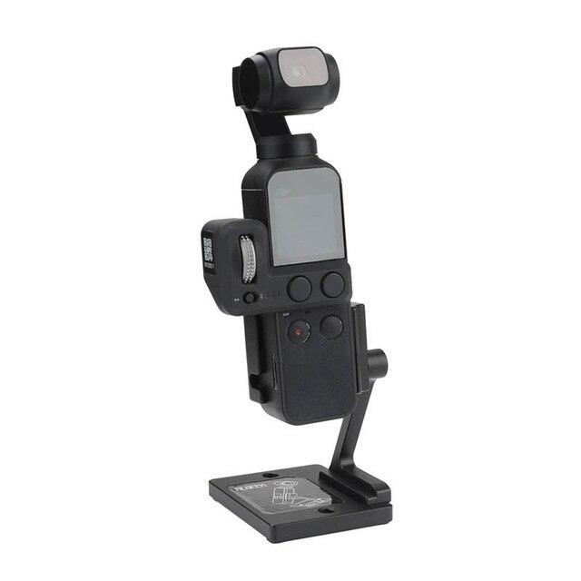 Desktop base stabilizer Aluminum holder Adjustable angle for dji osmo Pocket 2 gimbal camera Accessories