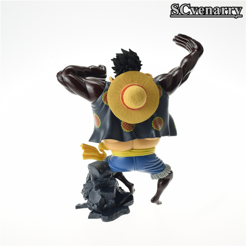 Anime One Piece Gear Fourth Luffy Champion Monkey.d.luffy Pvc Action Figure Model Toy Christmas Gift 16cm Strong Packing Toys & Hobbies