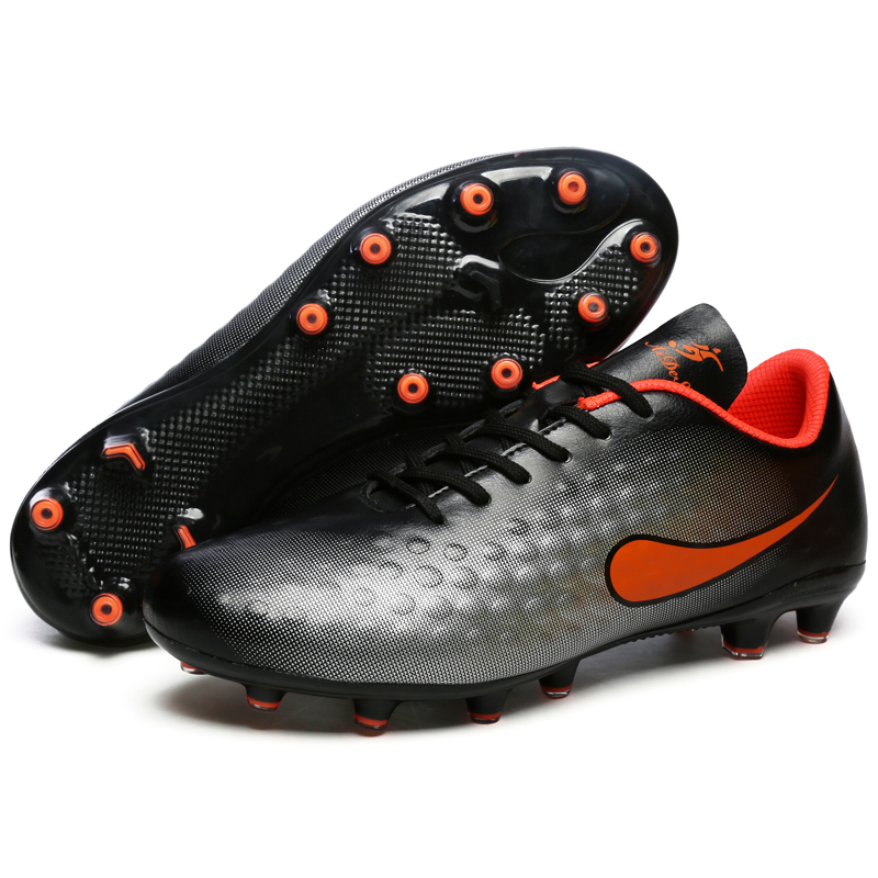 Sufei Kids Football Boots FG Soccer Shoes TF Indoor Cheap Superfly Soccer Cleats Boy Teenager Boy Training Sport Shoes toursh new football boots soccer shoes men superfly cheap football shoes for sale kids cleats indoor soccer shoes chuteira black