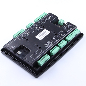 Image 5 - Controlador de generador led, piezas de genset, placa de control de alternador, panel de pantalla lcd, mando a distancia de arranque automático