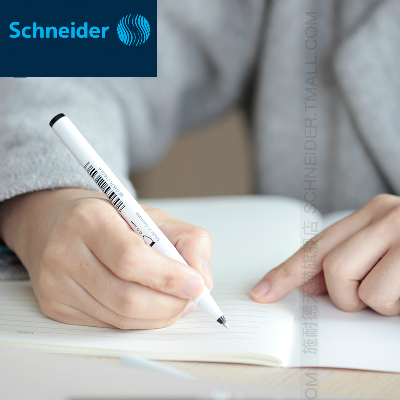 4pcs/lot Germany Schneider Gel Pen Signing Pen Topball 861# Black 0.5mm Student Office Stationery Writing Smoothly Exam Notes german imports schneider signing pen gel pen elegant business 1pcs