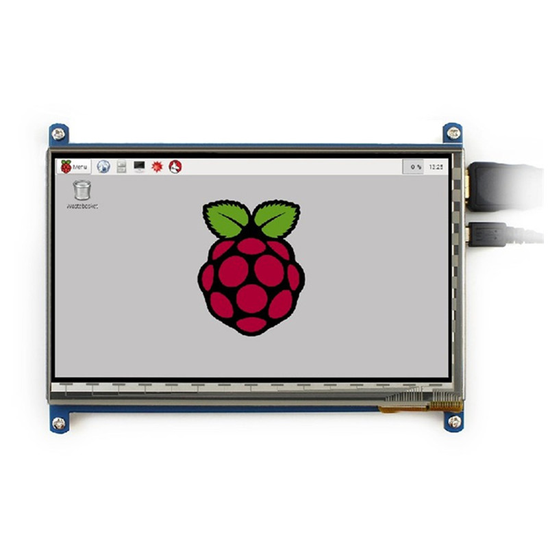 WeiKedz 7 inch Capacitive Touch Screen LCD HDMI interface supports various systems for Raspberry pi2 and pi 3 3 5 inch touch screen tft lcd 320 480 designed for raspberry pi rpi 2