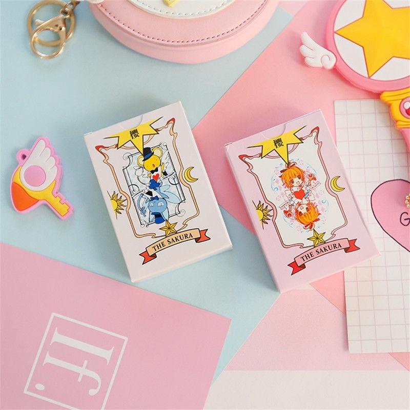 Manga Anime Cardcaptor 2 Poker Sakura Clow Transparent