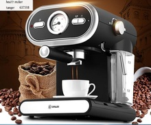 china guandong DL-KF5002  Donlim espresso italian cafe machine  household  pump steam coffee maker 20Bar 1L 110-220-240v