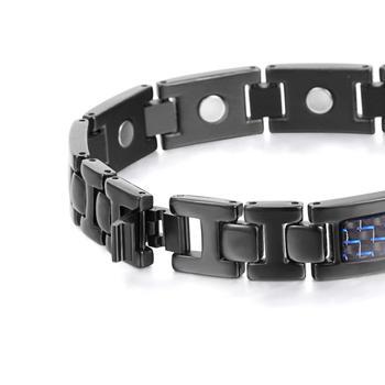 Bio Energy Titanium Bracelet Bangle Magnetic Health Care Relief The Pain  2