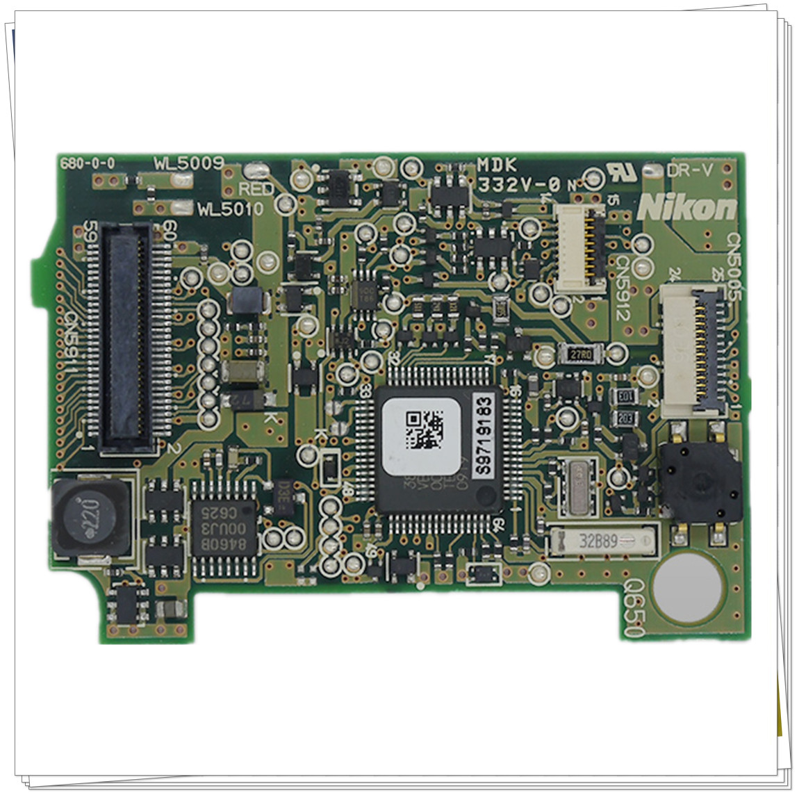 NEW PLATE DRIVE DEPUTY PCB BOARD FOR <font><b>Nikon</b></font> SLR <font><b>D60</b></font> REPAIR <font><b>PARTS</b></font> image
