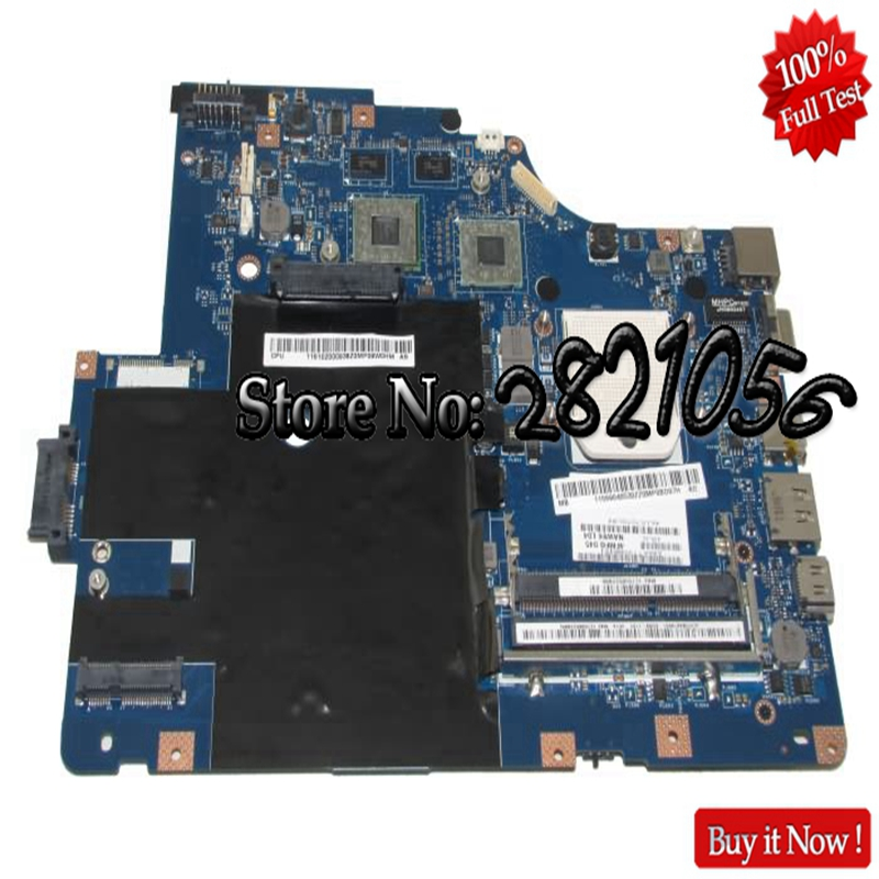 NOKOTION Laptop Motherboard LA-5754P Main board For Lenovo G565 Z565 Socket S1 Free CPU ATI HD5340 Video Card Tested