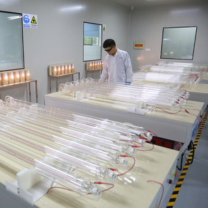 CO2 laser parts--95w glass laser tube SPT CS100 for laser cutting machine leather cutting