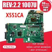 X551CA motherboard for ASUS X551CA Laptop motherboard X551CA mainboard REV2.2 1007u Test work 100% OK