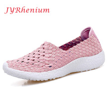 JYRhenium 2018 Breathable Mesh Women Light Sneakers Running Shoes For Women's Trainers Sport Shoes Outdoor Female Sports Shoes