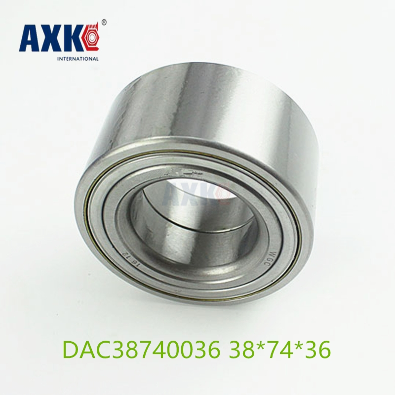 AXK  High speed Car Bearing Auto Wheel Hub  DAC38740036/33 Free Shipping 38*74*36/33 38x74x36/33 mm High Quality 4pcs dac3063w 30x63x42 dac30630042 dac3063w 1 9036930044 574790 dac3063w 1cs44 hub rear wheel bearing auto bearing for toyota