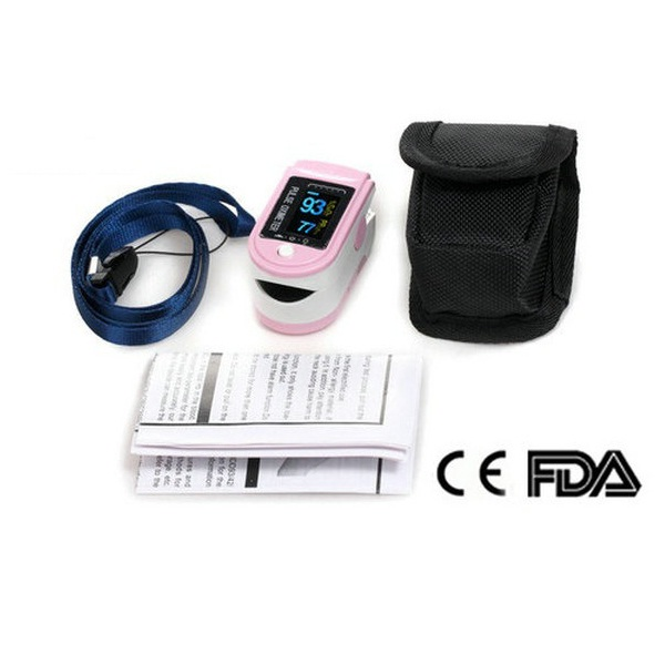 Contec CMS50D Fingertip Pulse Oximeter Oxygen Saturation SPO2 Monitor pink майка классическая printio fargo фарго