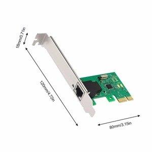 Image 3 - 1000Mbps Gigabit Ethernet adaptateur PCI Express PCI E carte réseau 10/100/1000M RJ 45 RJ45 LAN adaptateur convertisseur contrôle réseau