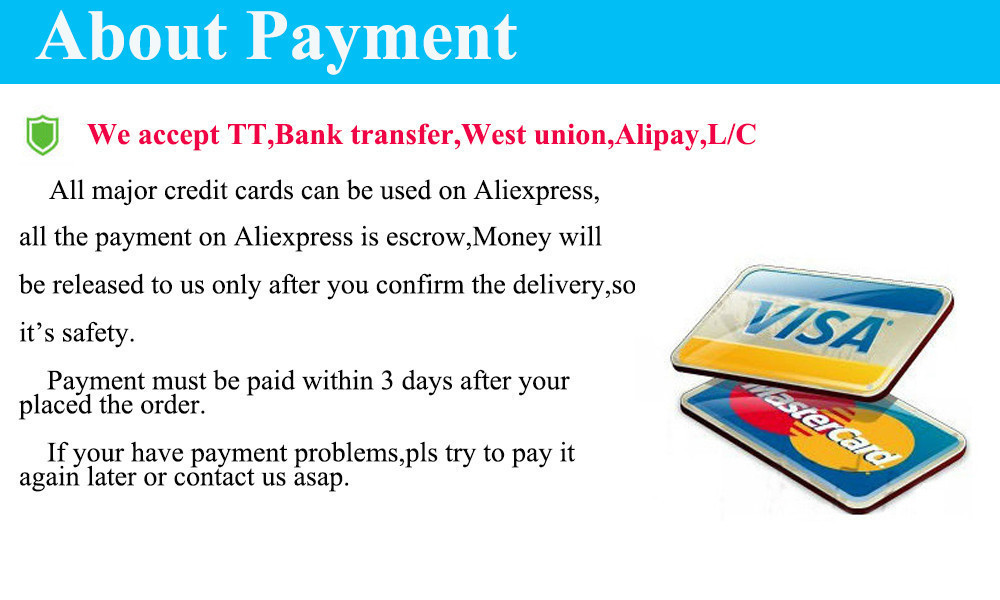New payment