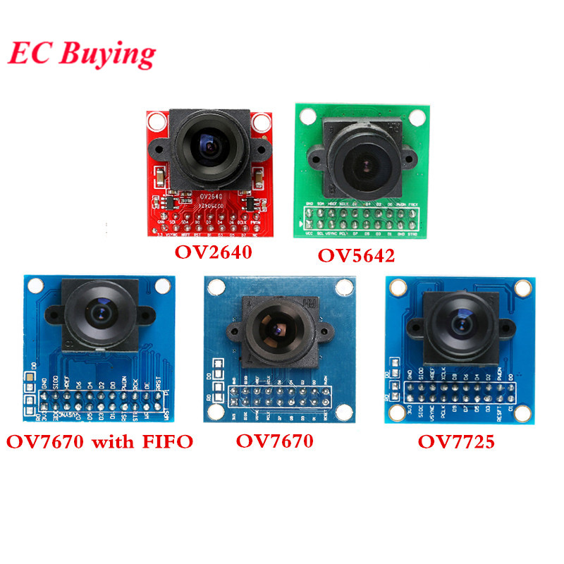 Camera Module OV7670 OV7725 OV5642 OV2640 OV7670 With FIFO CAM Module Image Sensor STM32 Supports VGA CIF JPEG 30W For Arduino
