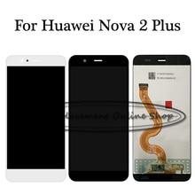 100% Getest Voor Huawei Nova 2 Plus Nova 2 + BAC AL00 BAC L21 BAC TL00 Lcd Touch Screen Digitizer Vergadering Vervanging