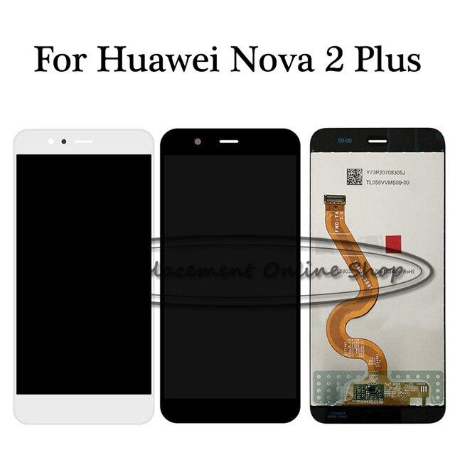100% נבדק עבור Huawei נובה 2 בתוספת נובה 2 + BAC AL00 BAC L21 BAC TL00 LCD תצוגת מסך מגע Digitizer עצרת החלפה