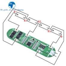 TZT – carte de Protection pour batterie Lithium Li-ion 4s 14.8V 12a, chargeur 18650, 16.8V