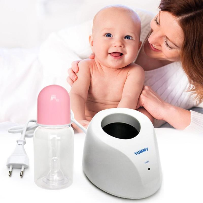 220V Electric Baby Milk Bottle Warmers Constant Temperature Heater EU Plug