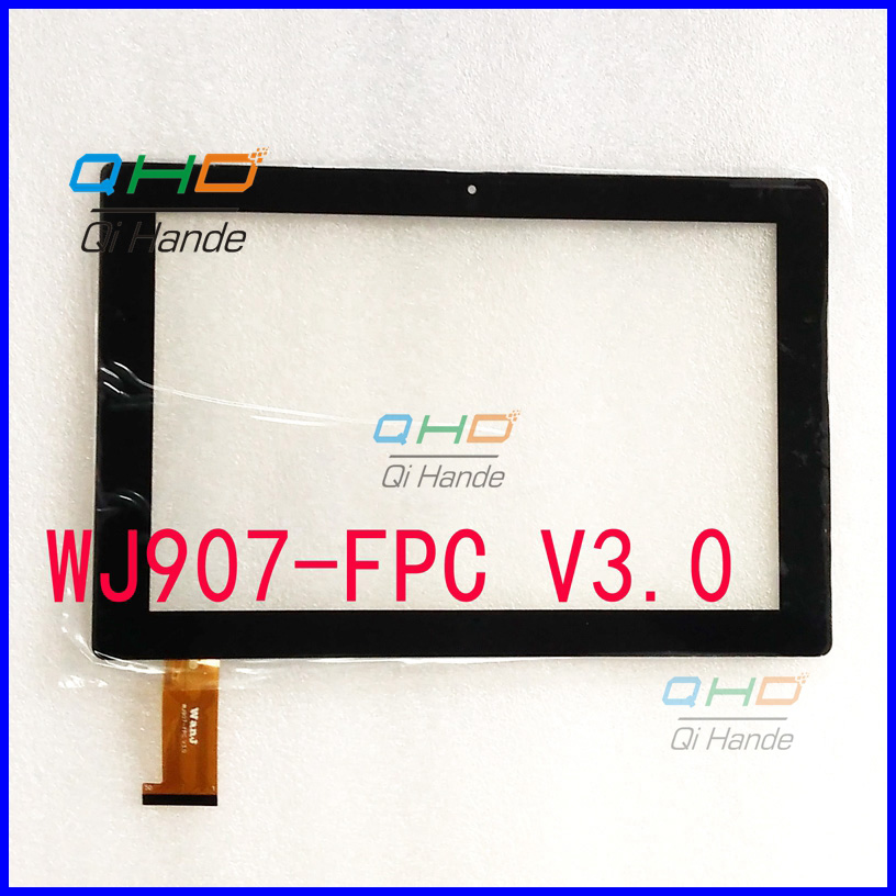 Free shipping 10.1'' inch touch screen,100% New for WJ907-FPC V3.0 touch panel,Tablet PC touch panel digitizer free shipping fpc 760a0 v01 touch screen